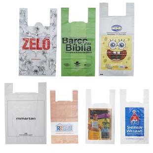 Confira as vantagens da sacola plástica alça camiseta personalizada